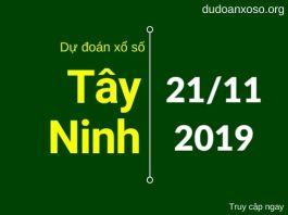 dự đoán xstn ngày 21/11/2019