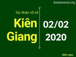 dự đoán xskg 2/2/2020