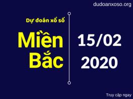 dự đoán xsmb 15/`2/2020
