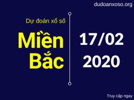 dự đoán xsmb 17/2/2020