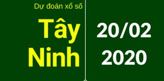 dự đoán xstn 20/2/2020