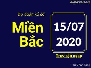 dự đoán xsmb 15/7/2020