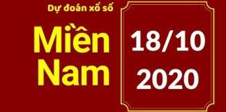 Dự đoán XSMN 18/10/2020