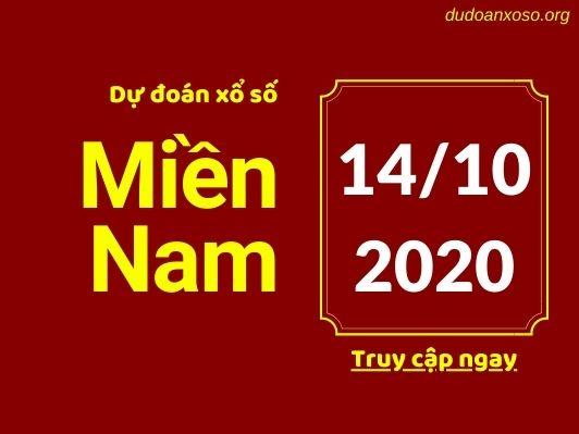 Dự đoán xsmn 14/10/2020