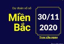 Dự đoán XSMB Wap 30/11/2020