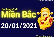 Dự đoán XSMB 20/1/2021