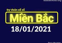 Dự đoán XSMB 18/1/2021