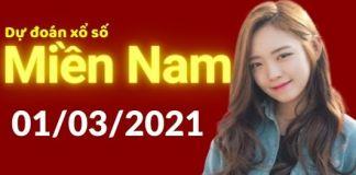 Dự đoán XSMN 1/3/2021