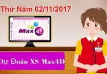 dự đoán xổ max 4d