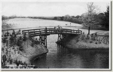 Anna's Hoeve 1934 eerste brug. Prentbriefkaart