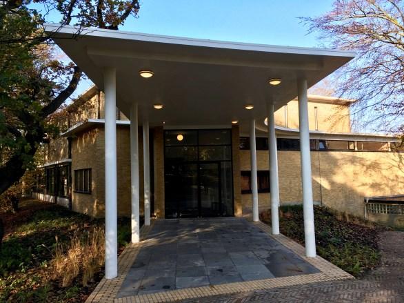 Begraafplaats Westerveld, Driehuis. Ontwerp: W. M. Dudok. Foto Peter Veenendaal