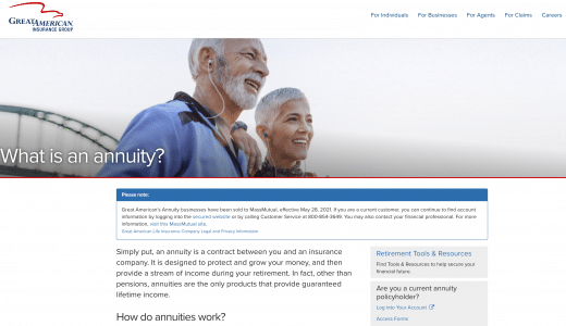 Great American Insurance Group Annuity Contract