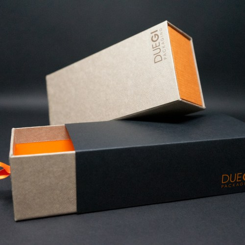 packaging alimentare scatola a cassetto