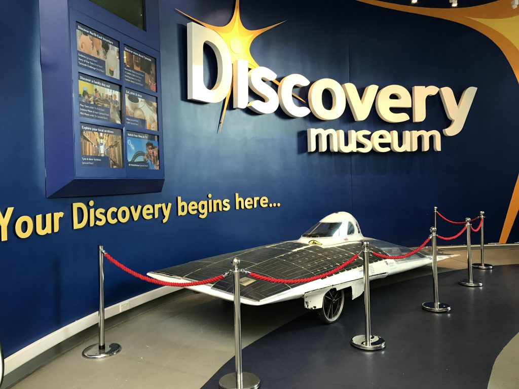 DUEM Exhibits at the Discovery Museum