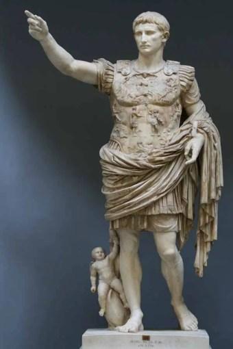 Augusto di Prima porta (o Augusto Loricato), Musei Vaticani