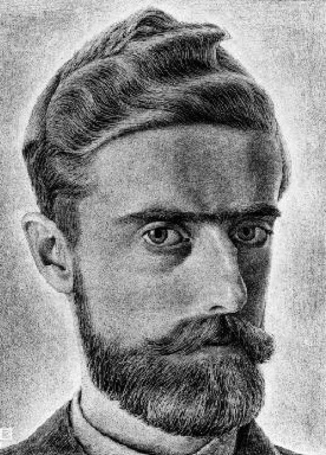 M.C. Escher, autoritratto