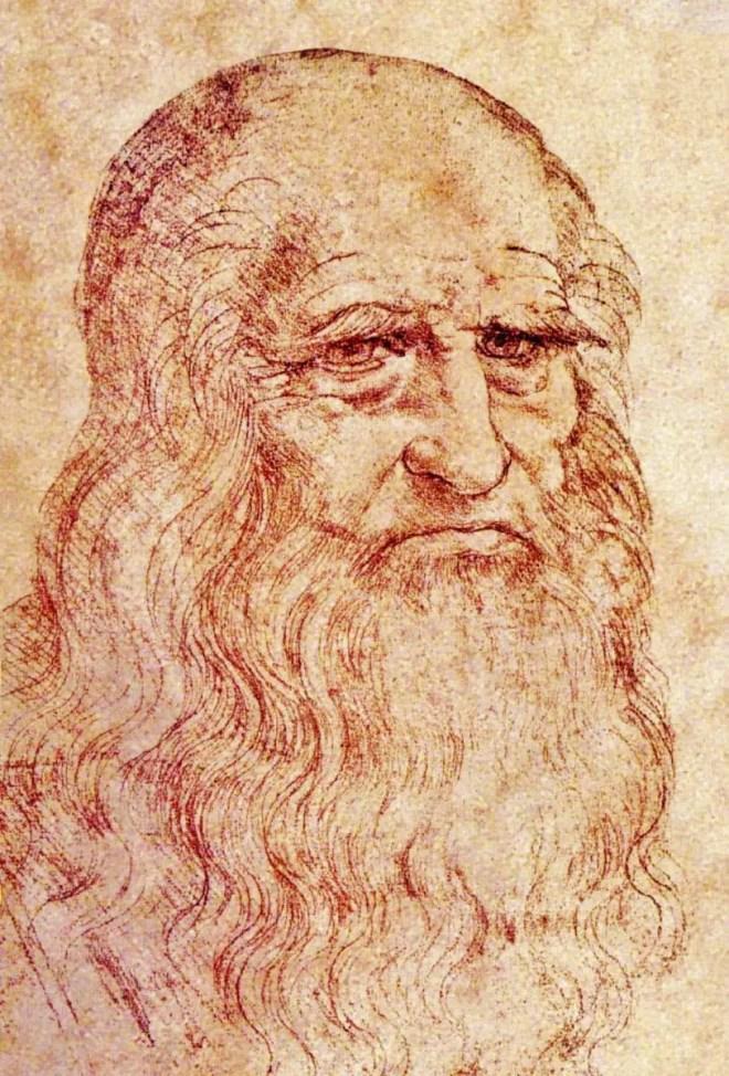 Leonardo da Vinci, Autoritratto (1513 circa), Torino, Biblioteca Reale