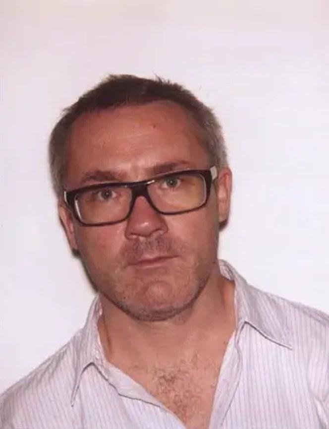 Damien Hirst ritratto da Luke Stephenson