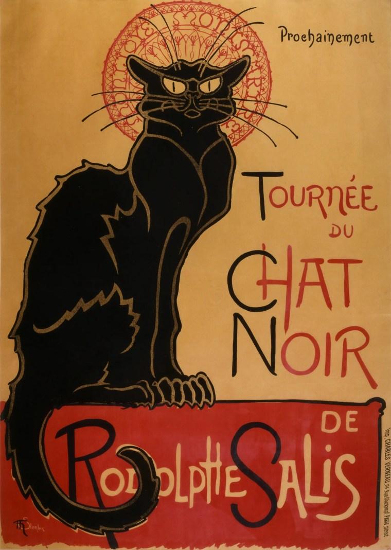 Théophile-Alexandre Steinlen, Tournée du Chat Noir
