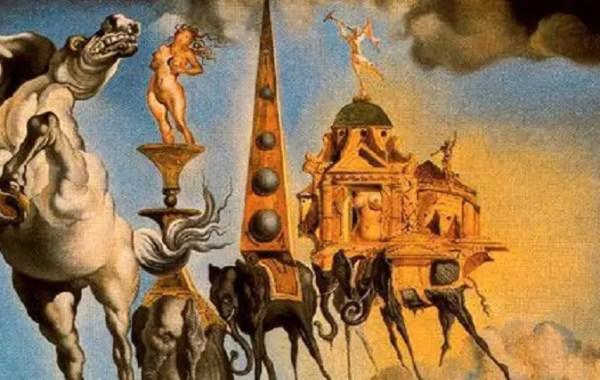 Salvador Dalí, La tentazione di Sant'Antonio