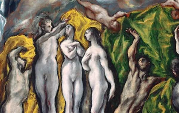El Greco, Apertura del quinto sigillo dell'Apocalisse (dettaglio)