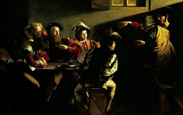 Caravaggio, vocazione di San Matteo
