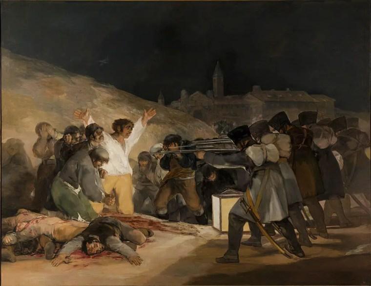 Francisco_Goya_3-maggio-1808_vita_oepre_riassunto_due-minuti-di-arte