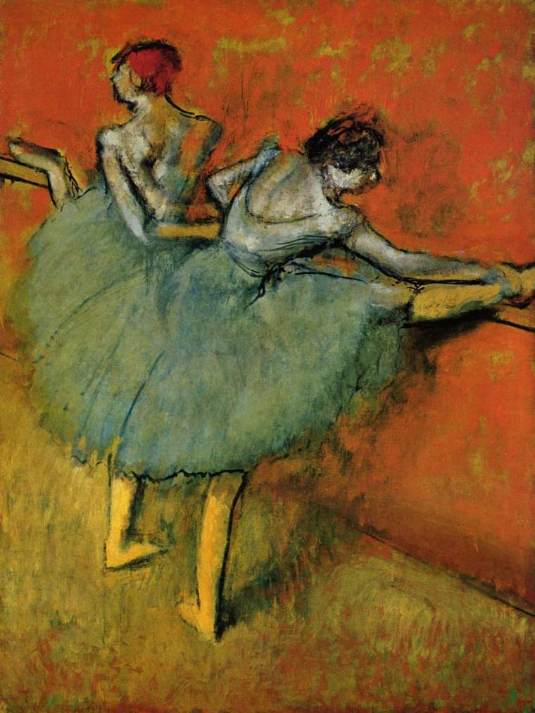 Edgar_Degas_ballerine-alla-sbarra_biografia_Opere_due-minuti-di-arte