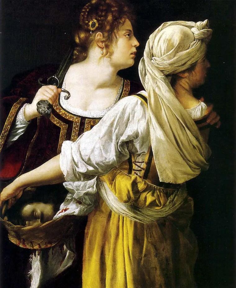 Artemisia Gentileschi, Giuditta e la sua ancella (dipinto)