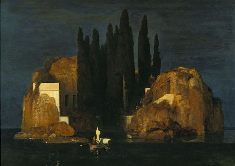 Arnold Böcklin, L'isola dei morti, 1880-1886