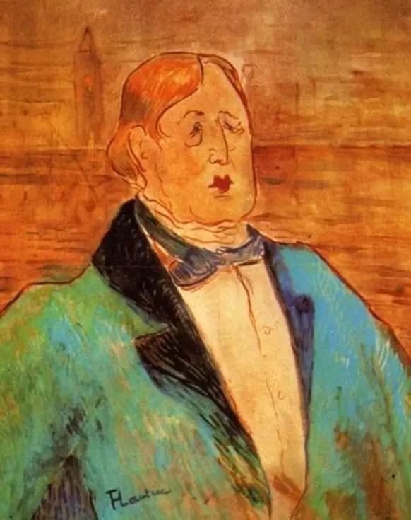 Toulouse Lautrec, Ritratto di Oscar Wilde