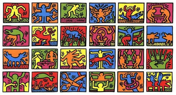 keith-haring_personaggi_vita_opere_riassunto_due-minuti-di-arte
