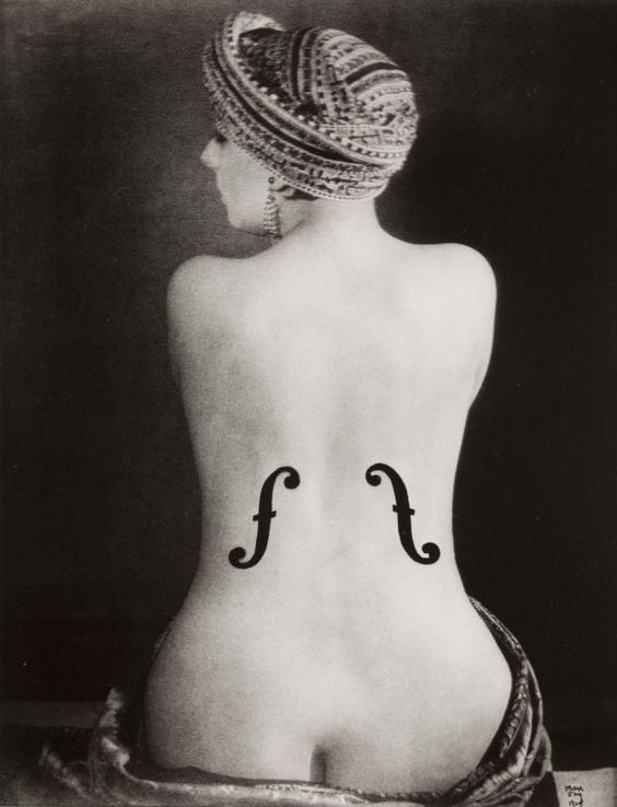 Man Ray, Violon d'Ingres, 1924, Musée National d'Art, Parigi