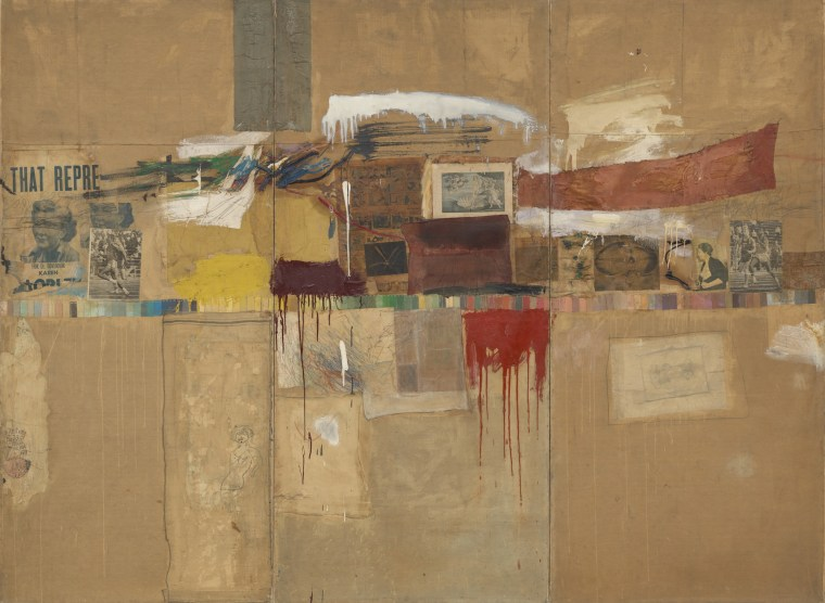 Robert Rauschenberg, Rebus 1955, Museum of Modern Art, New York