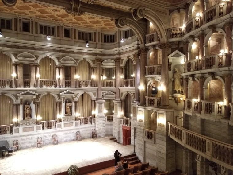 Teatro Scientifico di Bibiena, Mantova