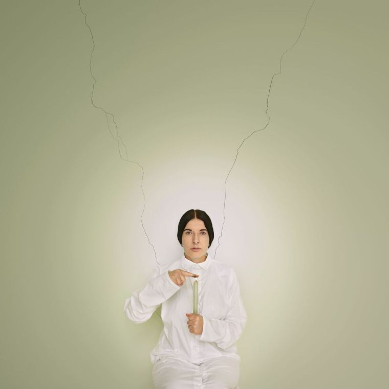 Marina Abramović, Artist Portrait with a Candle (C)from the series Places of Power, 2013, Courtesy of Marina Abramović Archives © Marina Abramović by SIAE 2018