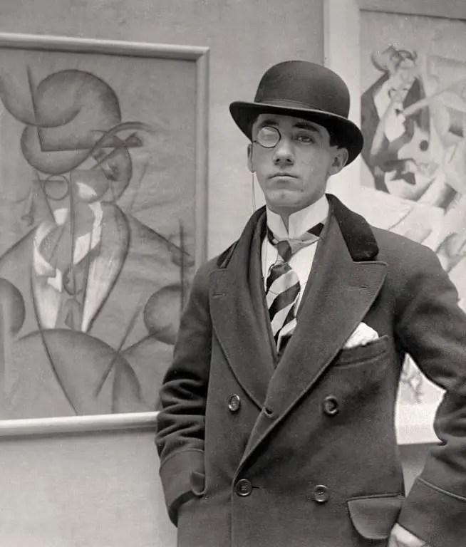 Gino Severini in una foto del 1913