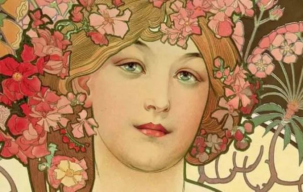 Alfons Mucha, Art Nouveau,