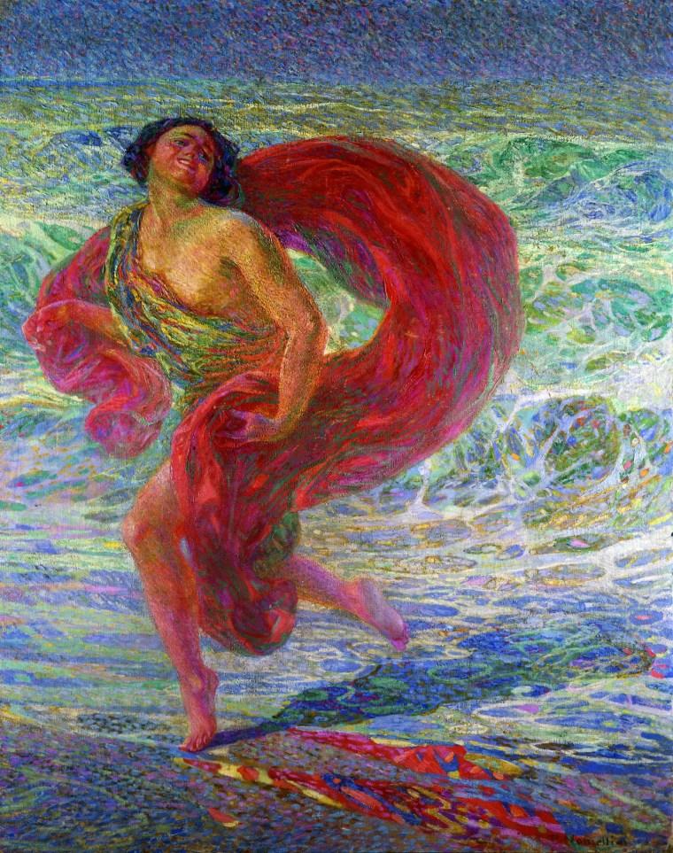 Plinio Nomellini, Isadora Duncan. Gioia , 1914