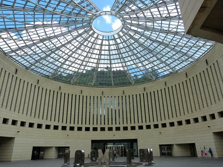 La cupola del MART, disegnata dall'architetto Mario Botta