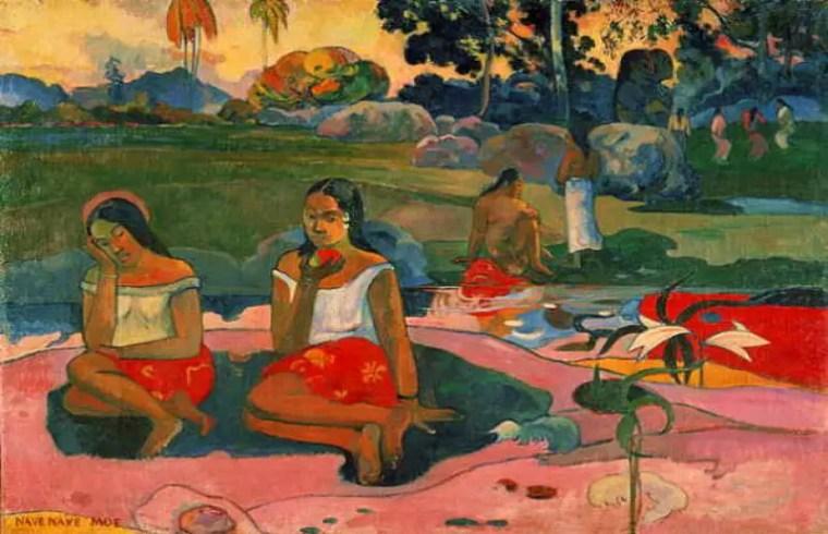 Paul Gauguin, Miraculous Source, 1894
