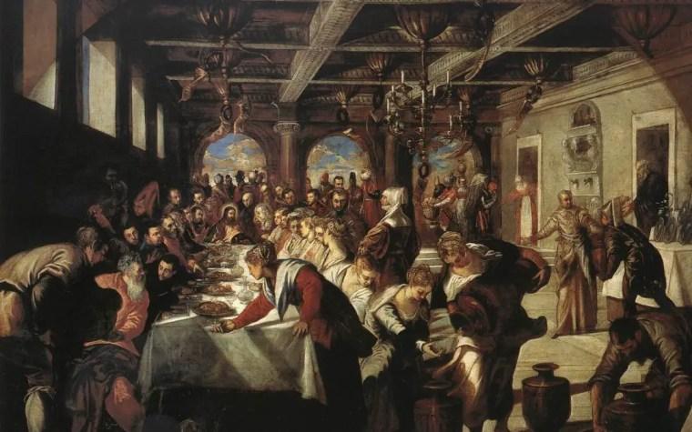 Jacopo Tintoretto, Le nozze di Cana