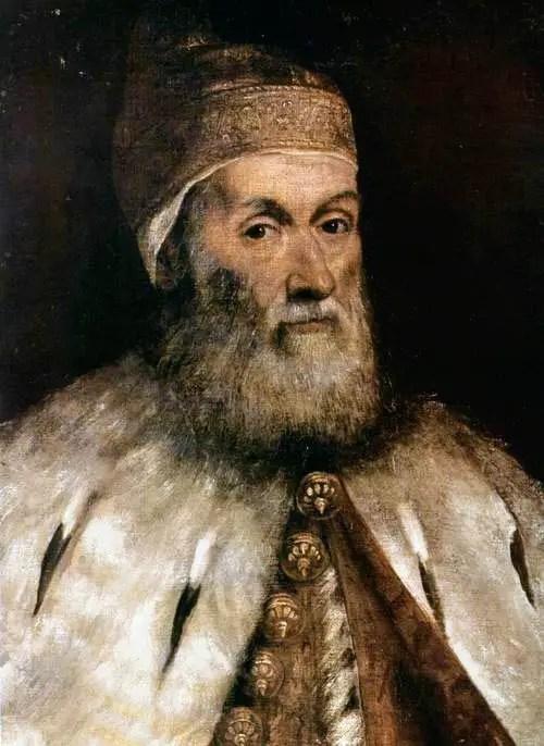 Jacopo Tintoretto, Ritratto di Girolamo Priuli
