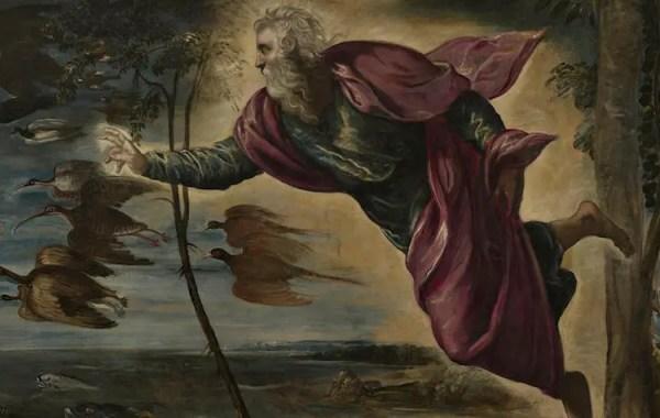 Jacopo Tintoretto, La creazione degli animali, 1550-1553