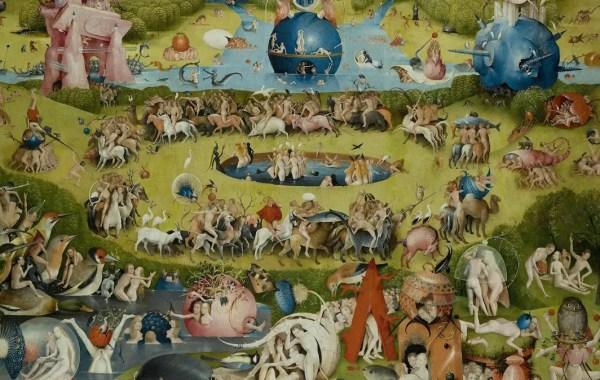 Hieronymus Bosch, Giardino delle delizie (dettaglio)