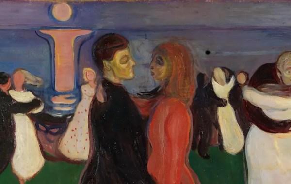 Edvard Munch, La danza della vita (dettaglio)