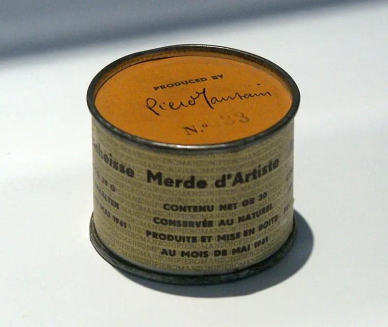 Piero Manzoni, Merda D'artista, 1961