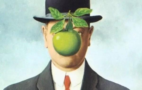 René Magritte, Il figlio dell'uomo (dettaglio)