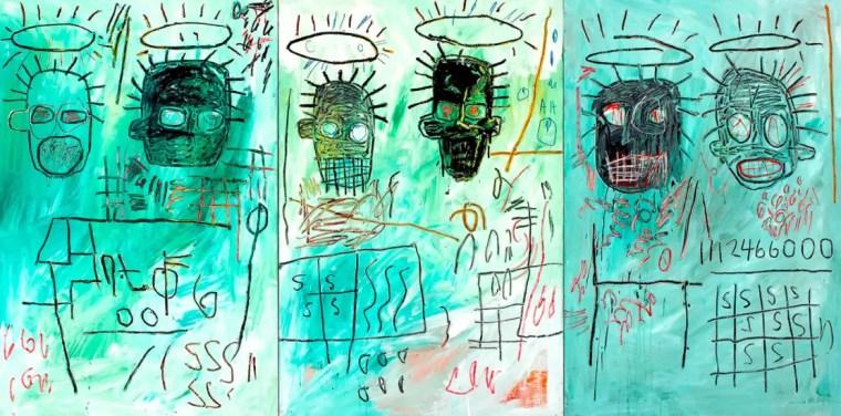 Jean-Michel Basquiat, Six Crimee, 1982, The Museum of Contemporary Art, Los Angeles