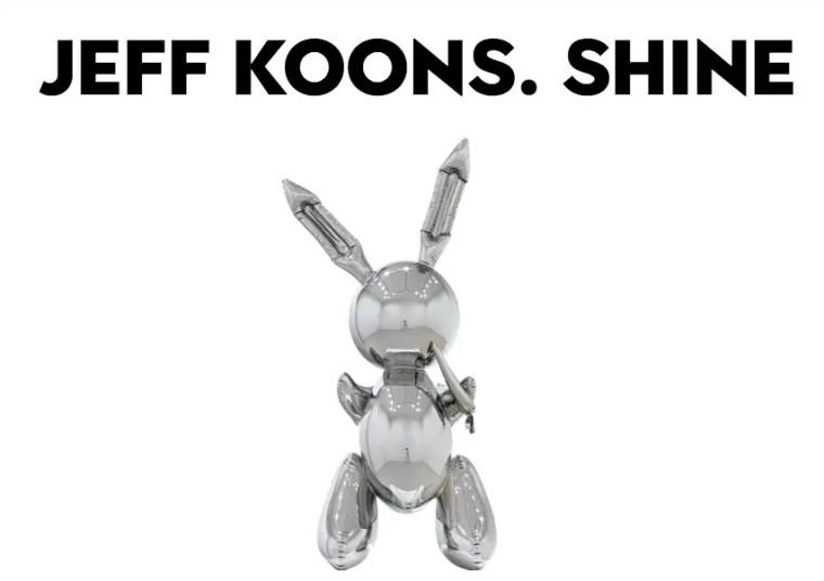Jeff Koons.Shine, mostra a Firenze